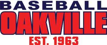 Logo for Oakville Minor Baseball